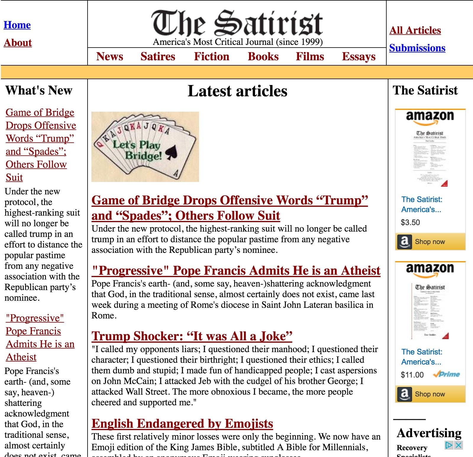 Satirist